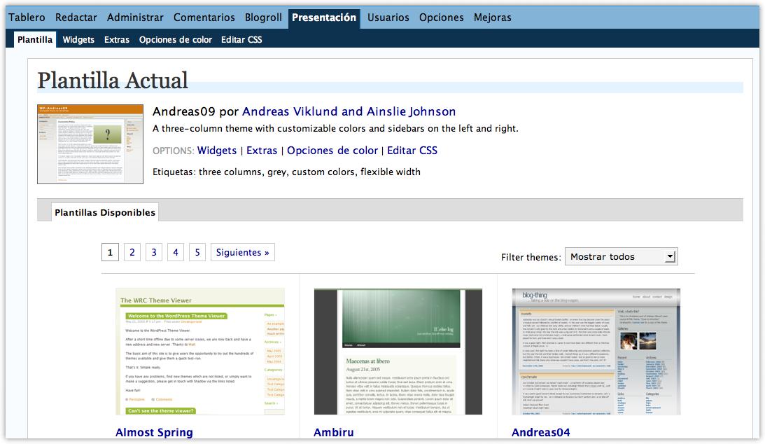 Como instalar temas en WordPress (actualizado) • Ayuda WordPress