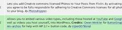 Plugin para insertar fotos de flickr