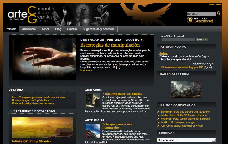 Blog del lector: arteCG