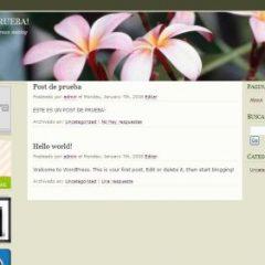 Plantilla en español – Floralia
