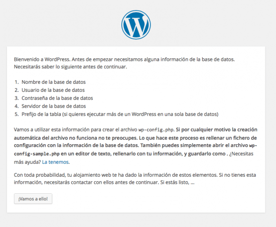 instalar WordPress paso 1