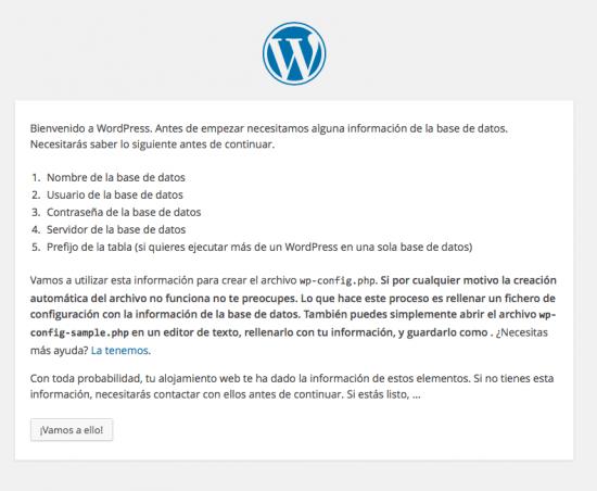 instalar WordPress paso 1