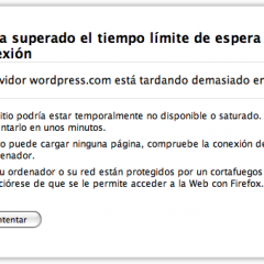 WordPress.com caído
