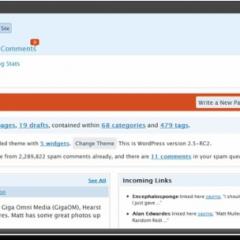 WordPress 2.5 RC2 lista para descarga
