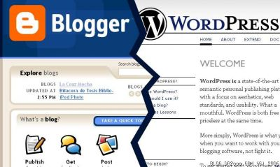 blooger vs wordpress