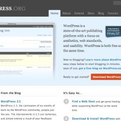 La web oficial de WordPress se renueva
