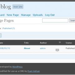 Plugin para usar WordPress como CMS estático