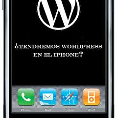 iPhone Blogging – WordPress App