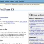 Cosas que han desaparecido en WordPress 2.5