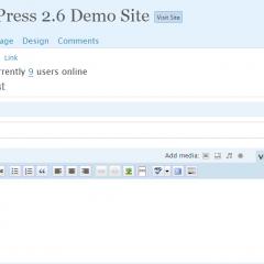 Ya puedes probar WordPress 2.6