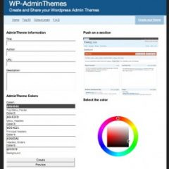 WPadminThemes – Colorea tu panel de WordPress