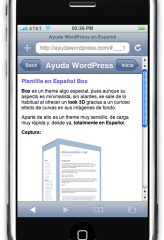 Tu Blog en la PDA o el iPhone