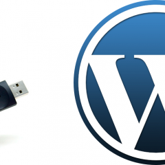 Lleva tu WordPress en un pendrive