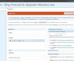 CrazyHorse – ¿Nuevo Panel de Admin en WordPress 2.6?