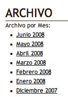 Creando un Archivo Cronológico