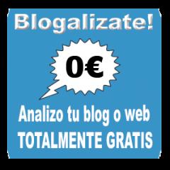 Análisis de Blogs grátis – Blogalizate