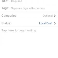 Código Fuente de WordPress para iPhone disponible