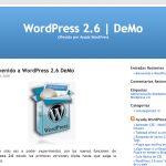 Entra en WordPress 2.6