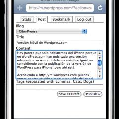 WordPress.com Móvil