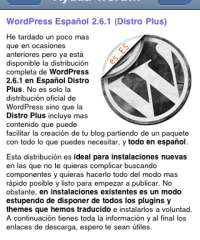 Ayuda WordPress en tu iPhone o PDA