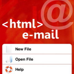 iPhone Blogging – HTML Email