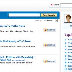 Yahoo Buzz – Plugin para WordPress