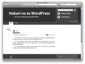 habari-no-es-wordpress