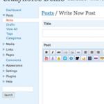Segunda Encuesta sobre WordPress 2.7