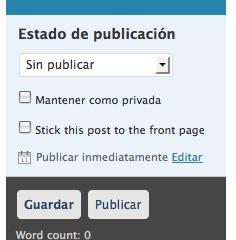WordPress.com se adelanta a WordPress 2.7 – Sticky Posts