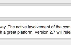 WordPress 2.7 Confirmado en Noviembre