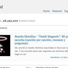 WordPress.com sobrepasa los 4 millones de blogs alojados