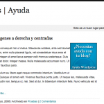 Plantilla en Español – WhiteSpace
