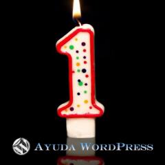 Ayuda WordPress – 1 Año de vida