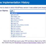 Buscador de Funciones WordPress