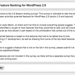 WordPress 2.8 – Lista de Deseos