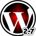 WordPress 2.7 Final ya disponible