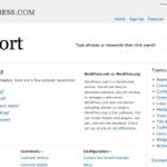 Nueva Web de Soporte en WordPress.com