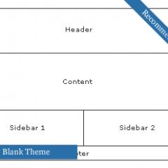 Themes en Blanco – Empieza tu diseño desde cero