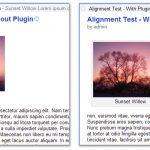 Alinear imágenes en el feed RSS
