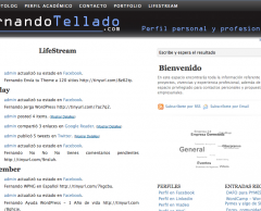LifeStream WordPress