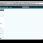 Enlace erróneo al Tablero de WordPress