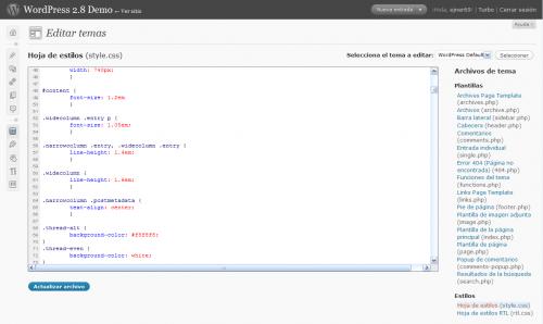 CodePress: Lenguaje CSS