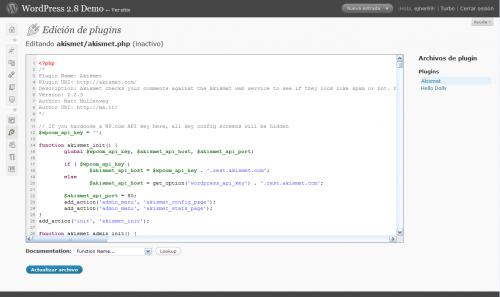 CodePress: Lenguaje PHP (plugins)