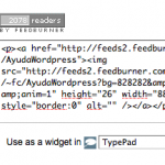 Mostrar los suscriptores a Feedburner Google
