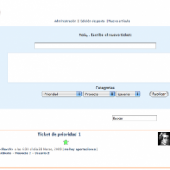 Bach Tickets System – WordPress como gestor de tareas