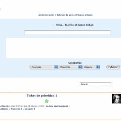 Bach Tickets System – WordPress como gestor de tareas