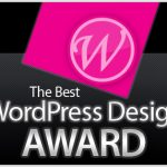 Premio de Diseño WordPress
