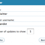 Twitter en WordPress.com