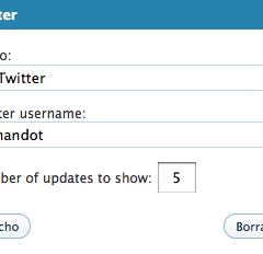 Twitter en WordPress.com