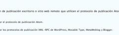 No puedo publicar desde Windows Live Writer